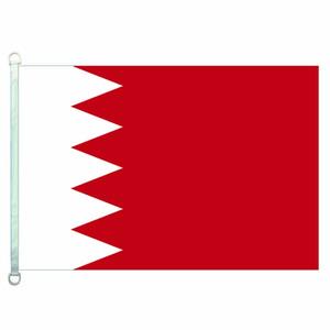 Boa Bandeira Bahrain Bandeiras Bandeira 3X5FT-90x150cm 100% Poliéster bandeiras do país, 110gsm Urdidura Tecido de Malha Ao Ar Livre bandeira