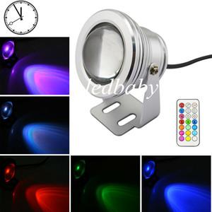 새로운 RGB 10W DC 85-265V Led 수 중 조명 12 색 방수 IP68 분수 수영 풀 램프 조명