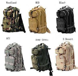 30L Açık Spor Askeri Taktik Sırt Çantası Molle Sırt Çantaları Kamp Trekking Çanta sırt çantaları 50 adet Ücretsiz DHL Fedex