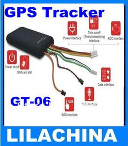 Vehículo vehículo GPS Tracker GT06 sensor de vibración + envío gratis