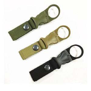 New Outdoor Tactical Nylon Webbing Buckle Hook Porta bottiglia d'acqua Clip EDC Climb Moschettone Belt Hang Hanger Camp