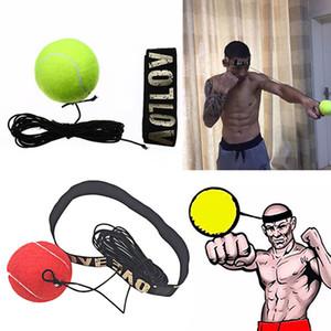 Novo Equipamento de Boxe Luta Bola Boxeo Acessórios de Treinamento Bola Velocidade Reflexo Muay Thai Trainer Bola de Resposta Rápida Soco Soco Stress Relief