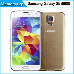 Reacondicionado Original Samsung Galaxy S5 G900F G900A G900T Quad Core 16GB ROM 4G LTE teléfono celular