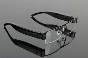 Gafas de cámara Full HD mini gafas 1080P gafas dvr V13 videograbadora portátil cámara de gafas compatible con hasta 32 GB de negro en su caja