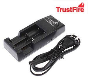 무료 FEDEX / DHL 20PCS TrustFire 001 TR001 리튬 배터리 충전기 (14500 용) 16340 18500 18650 배터리 EU / US 플러그 (검정색)
