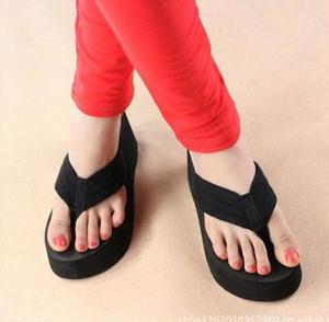 Wedge Platform Thong Tongs Eté Sandales Filles Chaussures Plage Casual Pantoufles commander $ 18 no tracking