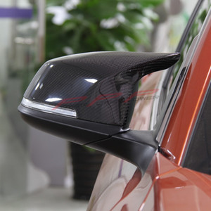 Carbon Fiber Free replacement style Mirror Cover Rear View For BMW 1 Ser F20 F21 116i 118i 120i M135i M3 M4 2012 2013 2014 2015