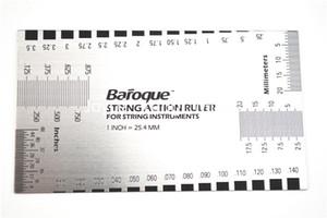 غيتار الغيتار الصوتية الكهربائية باس سلسلة العمل حاكم دليل قياس قياس شحن غيتار LUTHIER أداة مجانية