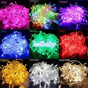 200 LED String Lights 20M 220V Decorazioni natalizie all'aperto Decorazioni per feste natalizie Garland Lighting B26