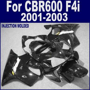 사출 성형 FAIRING Kit 혼다 용 CBR 600 F4i 페어링 2001 2002 2003 CBR600 F4i 01 02 03 바디 수리 페어링 키트