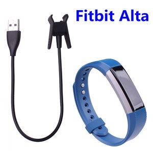 30CM Fitbit Alta 교체 USB 충전기 케이블 전원 어댑터 클램프 클립 Fitbit Alta Smart Watch 용 재설정 기능이있는 충전 도크