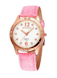 Nouveau mode diamant montre à quartz montre classique montre montres pour femmes cadeau 5 couleurs SYNOKE marque