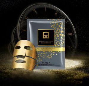 Chegada Nova BIOAQUA ouro 24k Acima Beleza Hidratante Hidratante Máscara Máscara protectora da Collagen Gold Máscara Facial