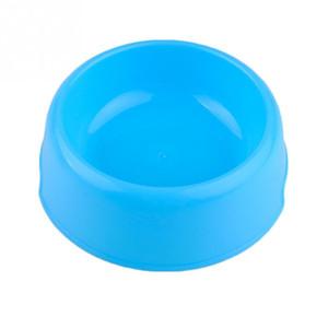 Gros-Pet Chien Chat Bowl Chiot Potable Pliable Facile Prendre à l'extérieur 5 Couleurs Alimentation D'eau Feeder Voyage Bol Bol 1 pc