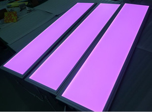 free shipping to Europed 300x1200mm SMD5050 RGB led panel light 33W 6pcs Lot used for stage performances