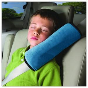아기 자동차 자동 안전 좌석 벨트 하네스 어깨 패드 커버 어린이 보호 커버 쿠션 지원 베개