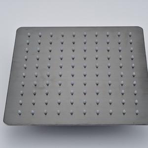 شكل مربع 8 بوصة رأس دش الأمطار النفط مفروك البرونزية الحمام النحاس دش