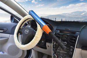 Orta Otomobil Anti Hırsızlık Kilitler Anti-Hırsızlık Kilit Kendini Savunma Beyzbol Direksiyon Kilidi Araba Güvenlik Ürünleri