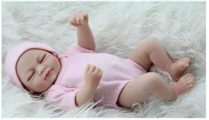 Reborn Baby Dolls Real Doll Handmade Reborn 11 дюймов Realse выглядит новорожденного девочка силиконовая реалистичная кукла