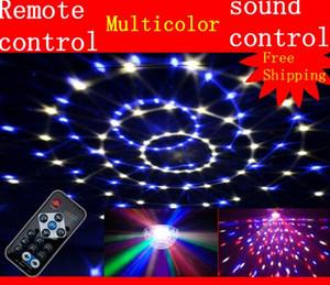 NEW!led Sound stage lighting disco crystal magic ball laser light beam lights bar ktv wedding laser par light flash effects