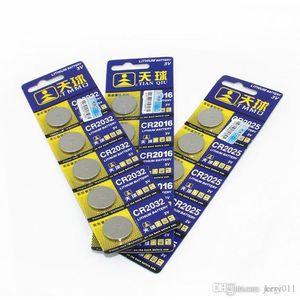 10PCS عالية السعة CR2032 3V بطارية ليثيوم بطاريات خلية زر بطاقة بطاريات بالجملة LOT زر عملة للساعات ، والمجلس ، ولعب اطفال وغيرها