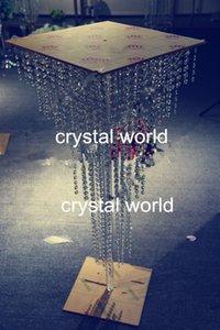pendentifs chauds en acrylique de cristal de mariage