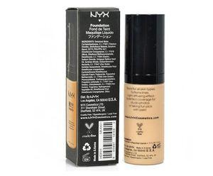 NYX maquillaje HD ESTUDIO FOTOGÉNICO FUNDACIÓN 36g 4 colores (24pcs / lot)