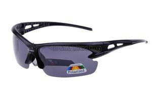 Erkekler Için 10 adet Ücretsiz Gönderi Polarize Güneş Gözlüğü Yarım Çerçeve Plastik Güneş Gözlükleri Erkek Spor Gözlük UV400