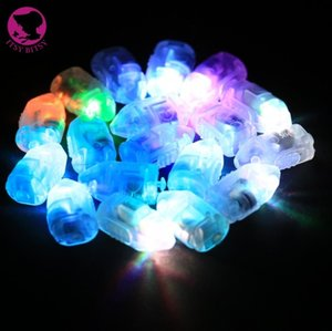 100 pçs / lote led mini luzes do partido para lanternas balões floral mini luzes led para peça central do casamento de vidro vasos YH006