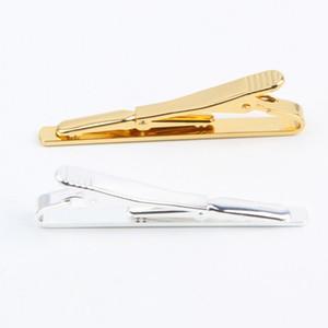 Men Tie Cravatta Clip Pin Stickpin Gold Colori argento Gemelli Fashion Accessroies Drop Shipping Tie-020