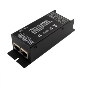 MJJC синхронно 1 канал 25A RF LED диммер 12V 24V для регулировки яркости и плотности одного цвета светодиодные полосы света
