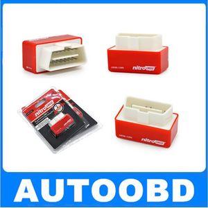 2017 NitroOBD2 Дизельный автомобильный чип-тюнинг Блок Plug and Drive OBD2 Chip Tuning Box Больше мощности / Больше крутящего момента NitroOBD2 Chip Tuning Box