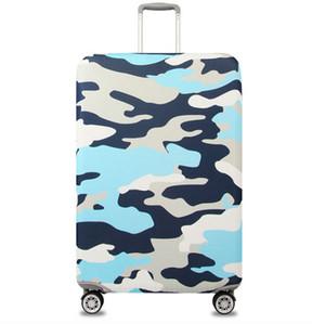 Dayanıklı kamuflaj seyahat çantası bavul koruyucu kapak bagaj durumda toz geçirmez kapak S / M / L / XL