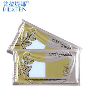300pcs Retail Pilaten echte Hals-Maske hohe Qualität Hals Membran Crystal Collagen Der Hals Whitening schöne Frau Kosmetik DHL frei