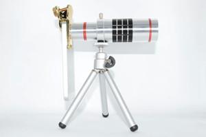 Telescopio universale per telefono cellulare 18X Zoom ottico lungo obiettivo focale Fotocamera digitale Telescopio Monoculare per Iphone Samsung Ipad Tablet PC