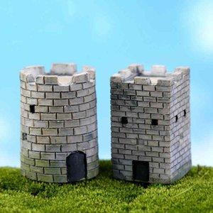 Simulierte Wand Strategic Pass Topfpflanze Ornament DIY Materialmodell Handwerk Moss Terrarium Micro Landschaft Fairy Garden Desktop Zakka