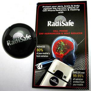 Celular Anti Radiação Adesivos | RadiSafe 3G | 4G | 50pcs 5G EMR-F-P Protecção / lot transporte livre
