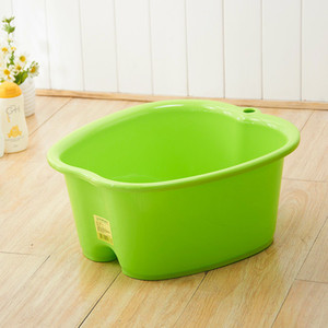 Wheat Baolong plus thick pupil tub feet feet barrel plastic barrels plastic pots foot bath massage