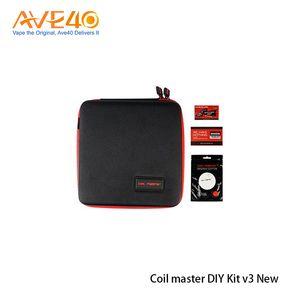 Original Coil Master DIY KIT V3 New Coil Master Tool Kit 2.0 For RDA RBA Atomizer Rebuilding Vape Mod