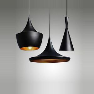 유럽 스타일 Brief 3 X 조명 현대 클래식 블랙 비트 주방 하우스 바 펜 던 트 램프 라이트 바 장식 램프 Freeshipping