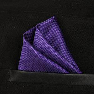 Solid Shiny Silk Square Kerchief Groom para Hanky Gentleman Imation Full Handkerchief Accesorios de boda Moda Cravat Cuvkc