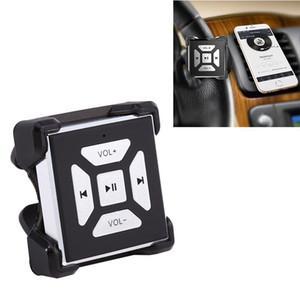Nuevo botón inalámbrico del control remoto del volante de la música de los medios Bluetooth de coche caliente para los accesorios de la electrónica del coche