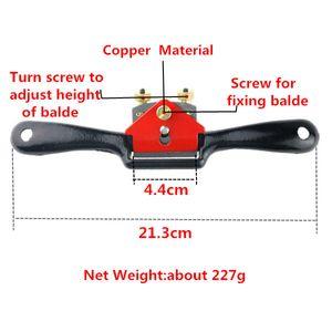 Qualità eccellente 9 pollici Taglio per bordo Lavorazione del legno Raggio a raggi piano Strumenti manuali per la rifilatura manuale per pialla $ 18no
