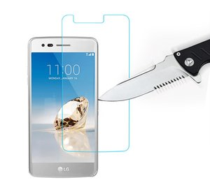 LG LV3 용 Zmax Pro z981 그랜드 x4 트리오 z833 Fierce 4 LG X Power Tribute HD 2.5D 9H 강화 유리 필름