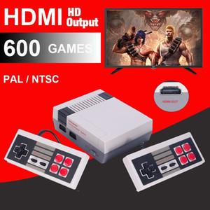 HDMI clássico Retro Fora portátil Game Família Jogador TV Console Video Game Console Infância Built-in 600 Output Jogos HDMI NES Console