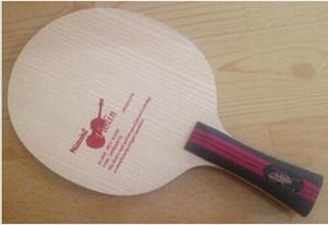 El envío libre / Nittaku Violín de tenis de mesa con cuchilla NE-6757 FL OFF para tenis de mesa raqueta de deportes de interior / de la lámina del ping-pong