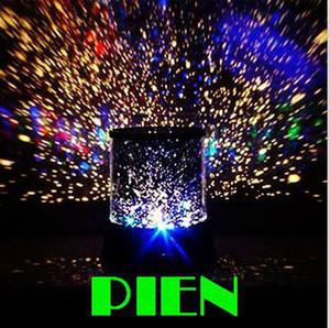 Céu estrela projetor night light crianças novidade dom mestre star starry lâmpada de parede decoração do teto Frete Grátis 1 pçs / lote