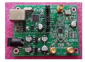 Free shipping ADF4351 Development Board module 35M-4.4G+ SMA cable
