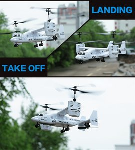 New Version 4.5CH RC Osprey Transport Aircraft ready to fly Osprey Plane with Gyro with light Christmas 2016 Gifts for children
