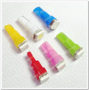 도매 가격 50pcs 자동차 Led 빛 T5 5050 1 SMD Led 대시 보드 전구 T5 램프